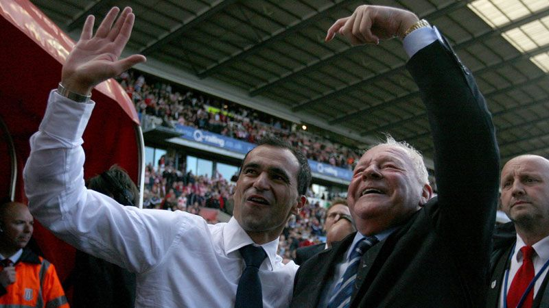 Roberto Martinez said he shares Dave Whelan's vision for the future