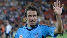 Alessandro Del Piero has welcomed incumbent Sydney coach Frank Farina