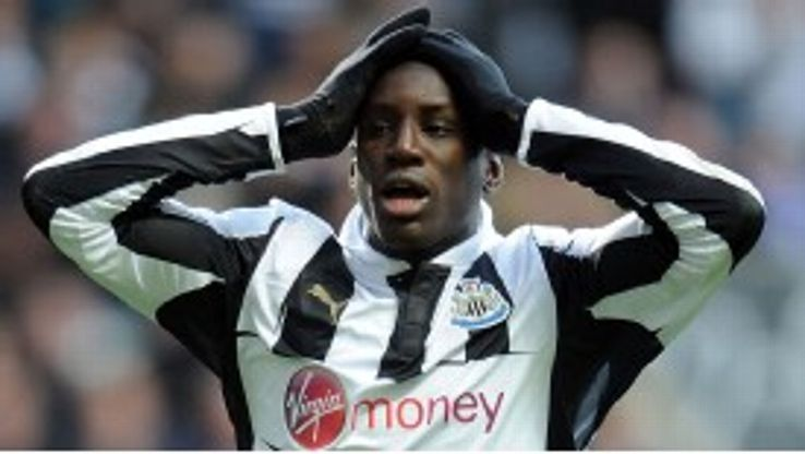Demba Ba scored a consolation for Newcastle against Swansea