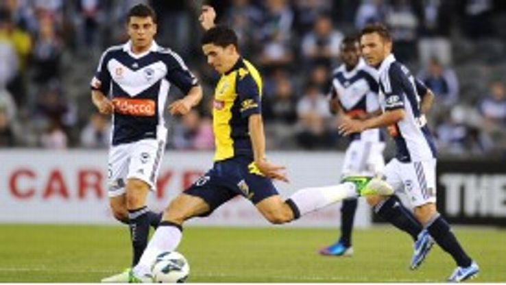 Tom Rogic has helped Central Coast to the top of the A-League ladder