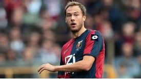 Premier League clubs are monitoring Genoa defender Andrea Granqvist's situation