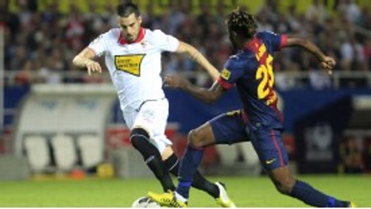 Sevilla have a selection headache after it was confirmed that striker Alvaro Negredo injured his hamstring