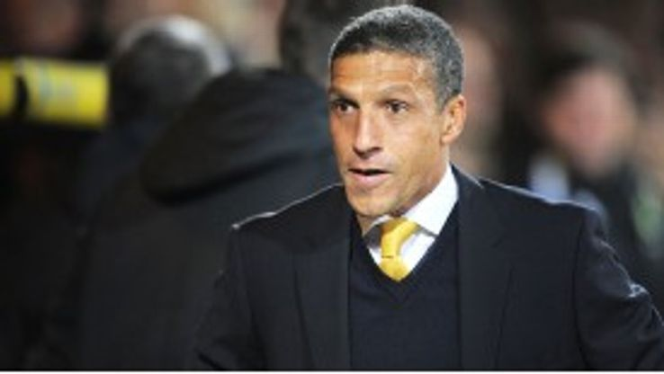 Chris Hughton's Norwich have been  impressive of late