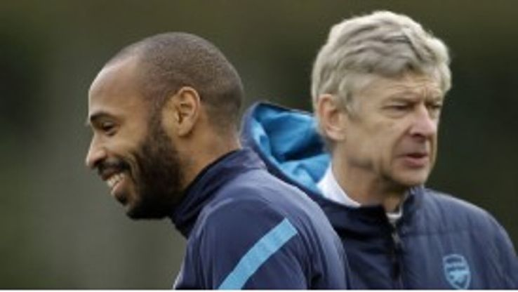 Thierry Henry is close to completing his Arsenal return