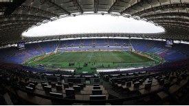 Lazio share the Stadio Olimpico with Roma