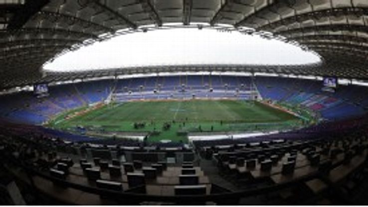 Lazio share the Stadio Olimpico with Roma