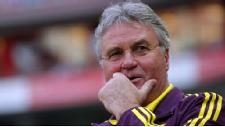Hiddink is staying at Anzhi for another year