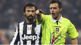 Nicola Rizzoli was the man in the middle for AC Milan's win against Juventus