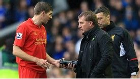 Brendan Rodgers says Steven Gerrard is still an 'integral' part of his plans.