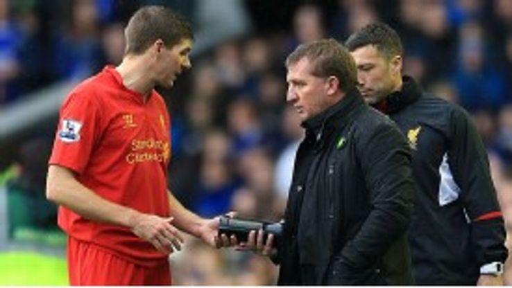 Brendan Rodgers says Steven Gerrard is still an 'integral' part of his plans.
