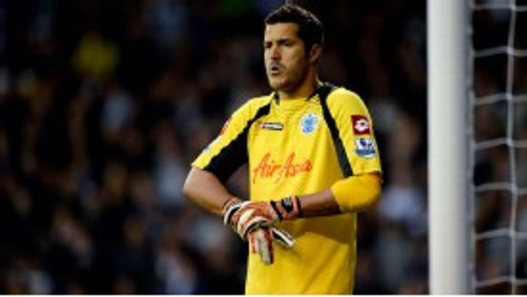 QPR goalkeeper Julio Cesar could be set for a spell on the sidelines