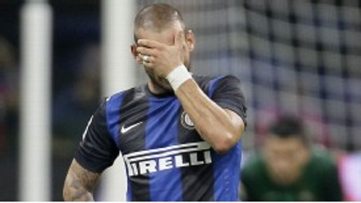 Sneijder has made played for Inter since September
