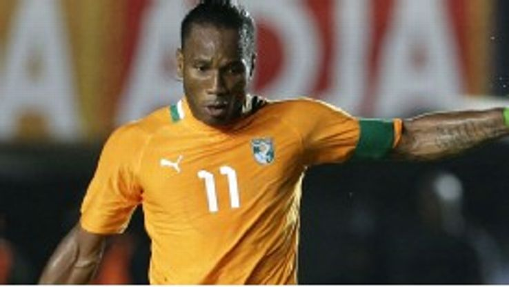 Drogba is a UNICEF ambassador