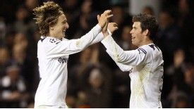 Modric and Bale helped Spurs reach the Champions League quarter-finals in 2011