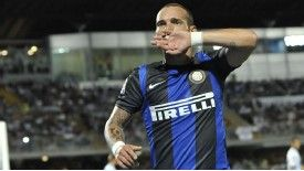 Sneijder has not played for Inter since September