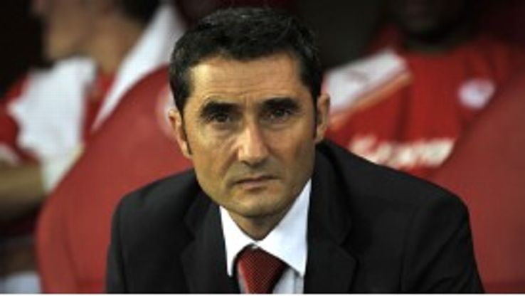 Ernesto Valverde joined Valencia in December