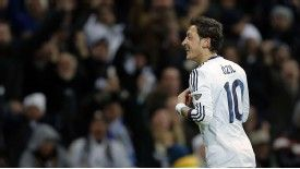 Mesut Ozil netted in a 2-0 win over Atletico in the Madrid derby this weekend