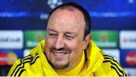 Benitez is reportedly set to be handed a two-year deal in Naples