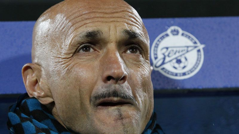 Spalletti has won back-to-back Russian titles in charge of Zenit