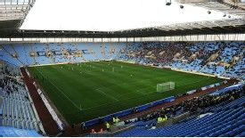 Coventry, who play at the Ricoh Arena, have been deducted ten points