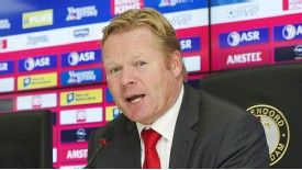 Ronald Koeman has previously managed clubs including Ajax, PSV and Valencia