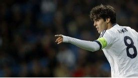 Kaka has found his first-team opportunities limited this season