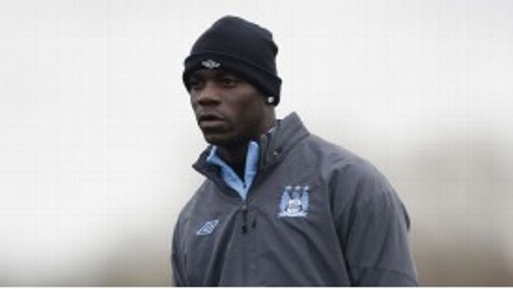 Mario Balotelli has had limited opportunities for his club in recent weeks