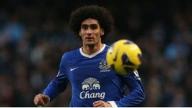 Maoruane Fellaini's fine form for Everton has attracted the interest of Russian side Zenit St Petersburg