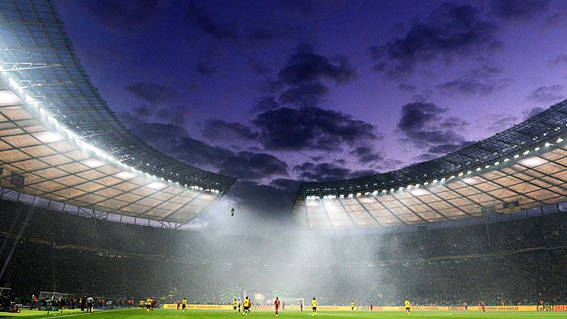 The Olympiastadion, Berlin, could host the 2015 final