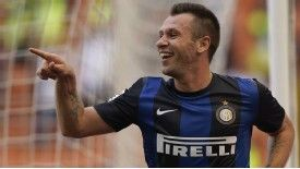 Cassano has proved a big hit at Inter since his summer move from city rivals AC Milan