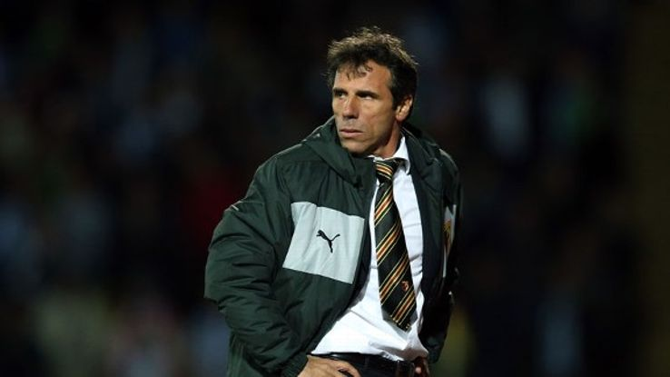 Gianfranco Zola is taking a long-term view to his tenure at Watford