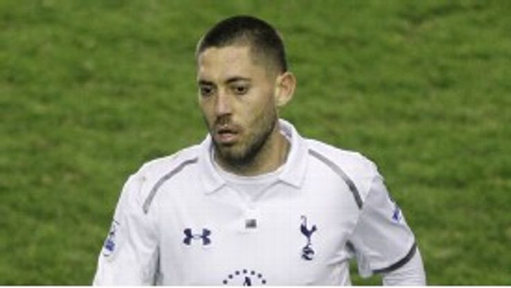 Clint Dempsey moved to Tottenham last August