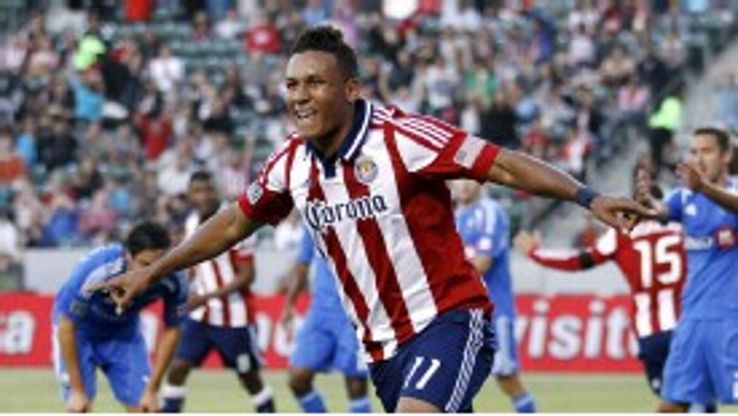 Chivas USA are reported to be keen to retain Juan Agudelo