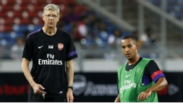 Arsene Wenger and Theo Walcott are worried by Arsenal's lapses
