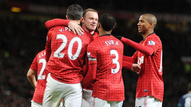 Wayne Rooney grabbed United's third against Sunderland