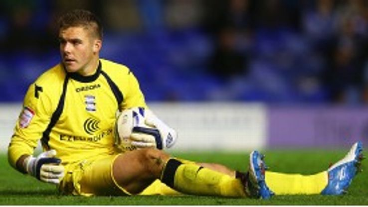 Jack Butland spent time out on loan in League Two with Cheltenham Town