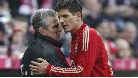 Gomez has given coach Heyneckes his backing