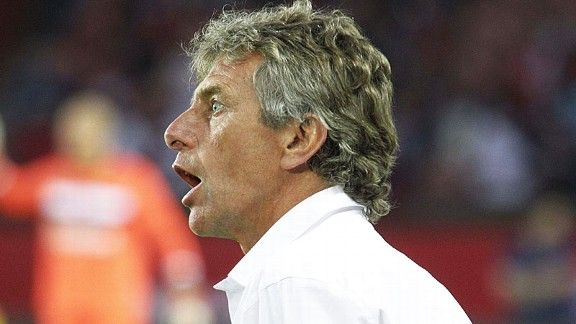 Lorient coach Christian Gourcuff: Four wins in a row