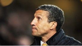 Chris Hughton steered Norwich to victory over Everton
