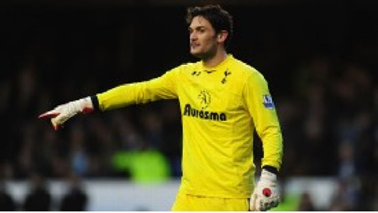 Hugo Lloris was forced to become a proactive goalkeeper by Andre Villas-Boas' tactics.