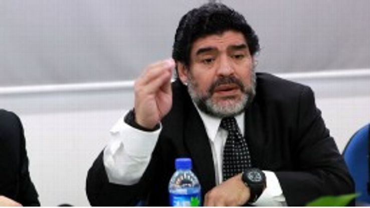 Diego Maradona is currently based in Dubai