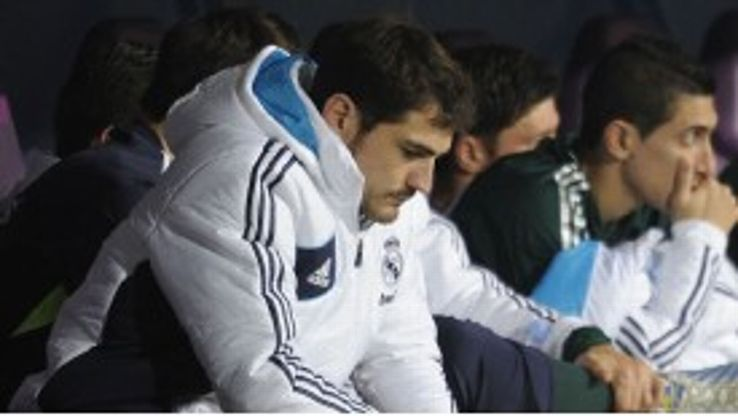 Iker Casillas was out of favour at Real Madrid under Jose Mourinho