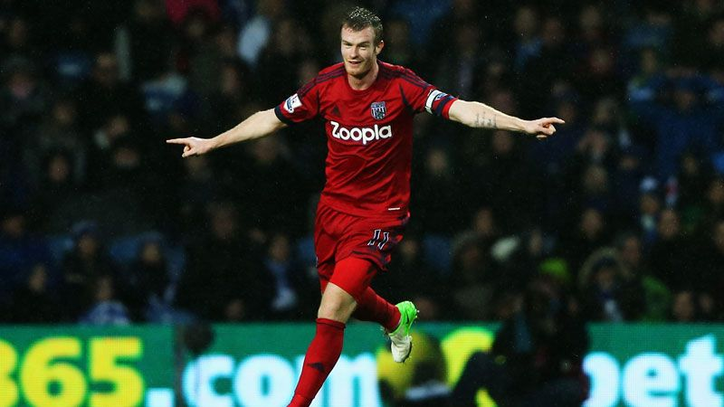 Chris Brunt added to QPR's woes as he put West Brom into a first half lead at Loftus Road