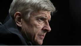 Wenger was sent to the Old Trafford stands in 2009 for kicking a water bottle
