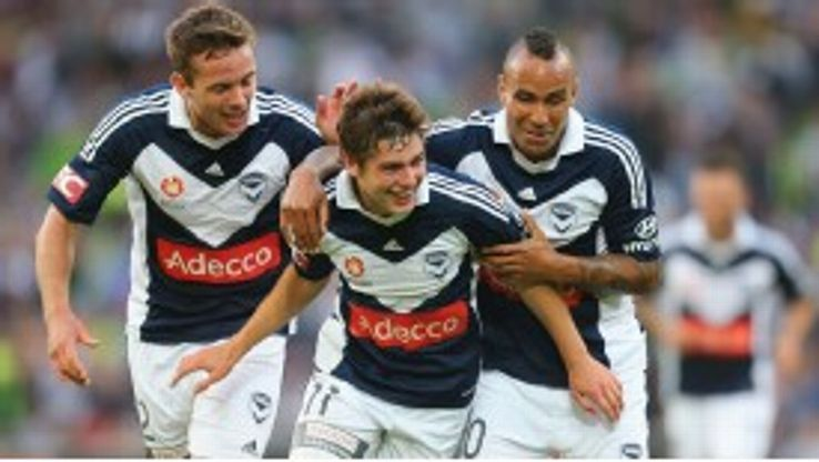 Marco Rojas was a standout performer this season for Melbourne Victory