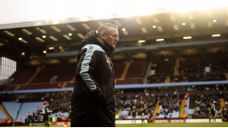 Paul Lambert was pleased with Villa's display after the break