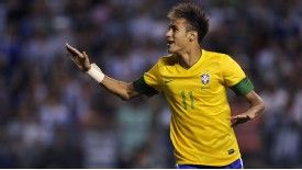 Neymar has shot down England's World Cup hopes by admitting he does not feel threatened by them.