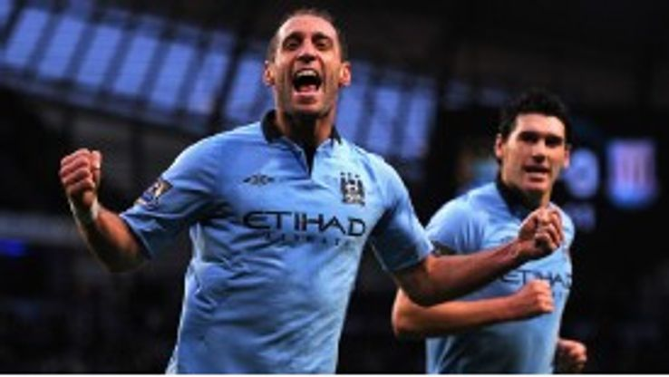 Pablo Zabaleta has stood out for a disappointing Manchester City side this season