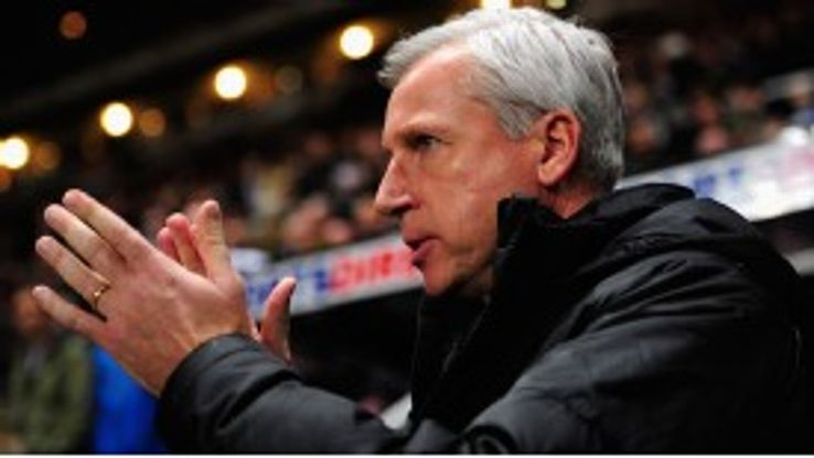 Alan Pardew has found it tougher this season than last