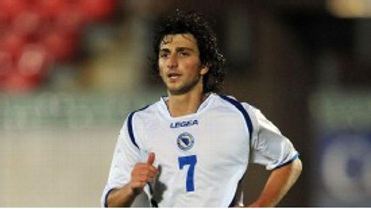 Miroslav Stevanovic is an international for Bosnia and Herzegovina